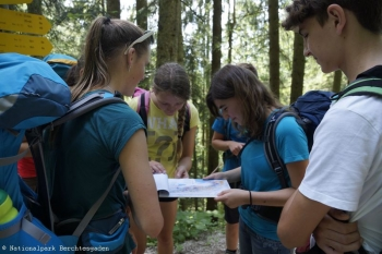 Nationalparkverwaltung Berchtesgaden - Youth at the Top 2016 © Nationalparkverwaltung Berchtesgaden